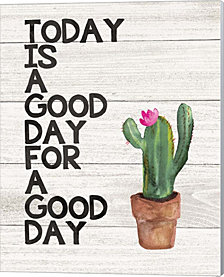 Today is Good by Jo Moulton Canvas Art