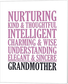 Adjectives For Grandma By Color Me Happy Canvas Art