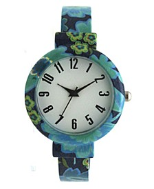 Floral Bangle Watch