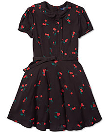 Polo Ralph Lauren Big Girls Cherry-Print Dress