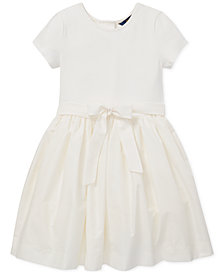 Polo Ralph Lauren Big Girls Fit & Flare Dress
