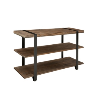 """Alaterre Furniture Modesto 48""""l Reclaimed Wood Media/console Table In Brown"""