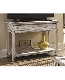 Country Cottage Media/Console Table