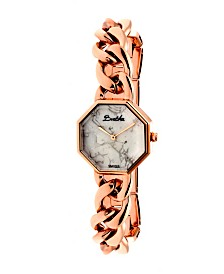 Bertha Quartz Ethel Collection Rose Gold Stainless Steel Watch 30Mm