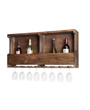 Image of 36 Wine Rack Hardwood Brown - Alaterre Furniture