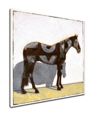 Ready2HangArt \'Equestrian Pinto\' Horse Canvas Wall Art Collection ...