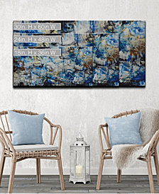 Ready2HangArt 'Blue Bomb' Abstract Canvas Wall Art Collection