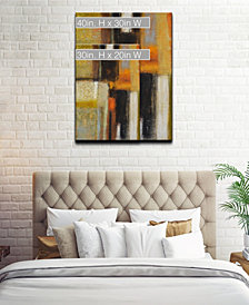 Ready2HangArt 'Down to Earth II' Abstract Canvas Wall Art Collection