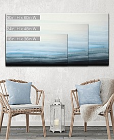 'Ocean Depths' Abstract Canvas Wall Art Collection