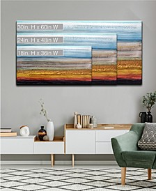 'Sky and Ground' Abstract Canvas Wall Art Collection