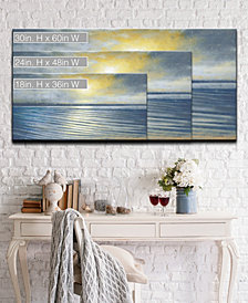 Ready2HangArt 'Water Ripples' Abstract Canvas Wall Art Set Collection
