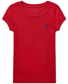 Polo Ralph Lauren Little Girls Short Sleeve T-Shirt