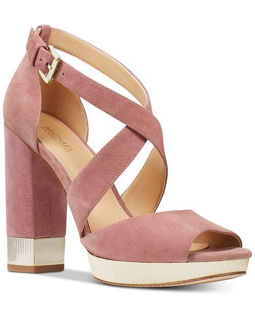 b4980b4a78d Michael Kors Valerie Platform Sandals   Reviews - Sandals   Flip ...