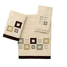 Metropolis Embroidered Hand Towel