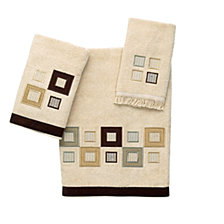 Avanti Metropolis Embroidered Hand Towel