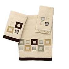 Avanti Metropolis Embroidered Fingertip Towel