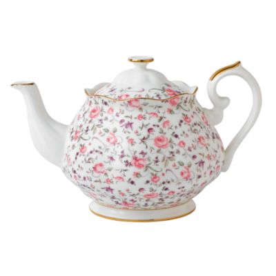 Rose Confetti Teapot
