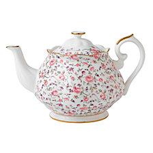 Royal Albert Rose Confetti Teapot