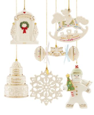 this item is part of the lenox 2018 annual ornaments - Lenox Christmas Decorations