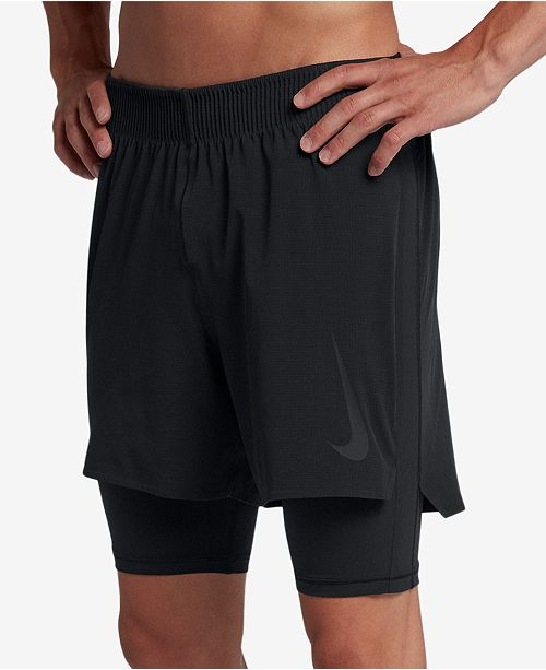 384bf65dec200 Nike Men's Flex 2-In-1 Training Shorts & Reviews - Shorts - Men - Macy's