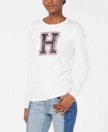 Tommy Hilfiger Varsity Letter Print T-Shirt