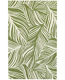 Tommy Bahama Home  Atrium Indoor/Outdoor 51104 Green/Ivory Area Rug