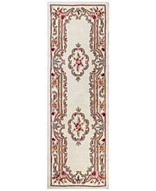 "Dynasty Aubusson 2'6"" x 8' Runner Rug, Created for Macy's"