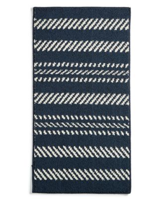 "Nautical Stripe 30"" x 45"" Scatter Rug, Created for Macy's"