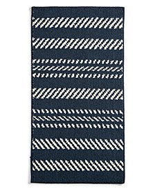 "Charter Club Nautical Stripe 20"" x 36"" Scatter Rug, Created for Macy's"
