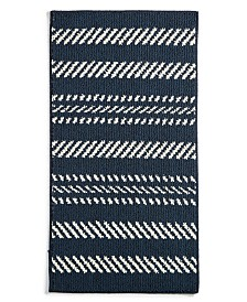 "Charter Club Nautical Stripe 30"" x 45"" Scatter Rug, Created for Macy's"