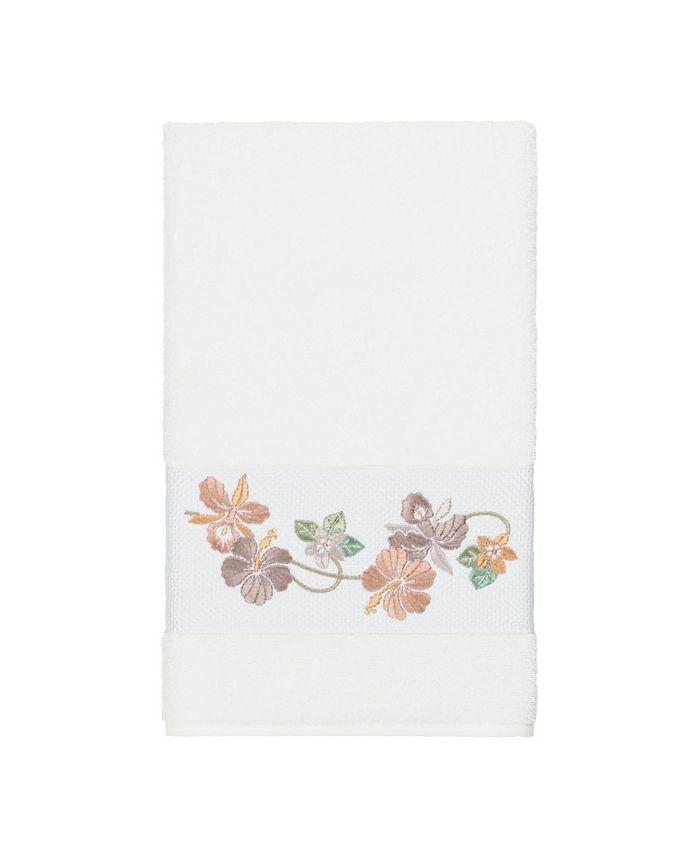 Linum Home - Caroline Embroidered Turkish Cotton Bath Towel