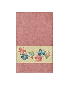 Caroline Embroidered Turkish Cotton Bath Towel