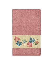 Linum Home Caroline Embroidered Turkish Cotton Bath Towel