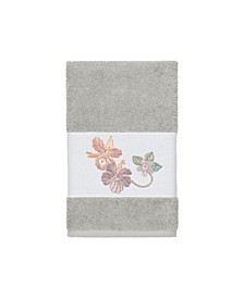 Caroline Embroidered Turkish Cotton Hand Towel