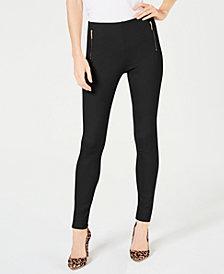 I.N.C. Ponté-Knit Skinny Pants, Created for Macy's