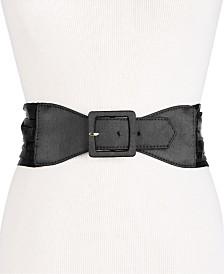 I.N.C. Satin Tuxedo Cummerbund Belt, Created for Macy's