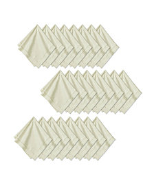 "Elrene Hemstitch 18"" x 18"" Napkins, Set of 24"