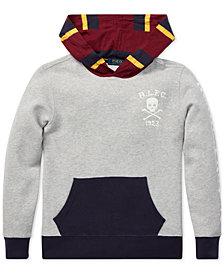 Polo Ralph Lauren Big Boys Colorblocked Fleece Hoodie