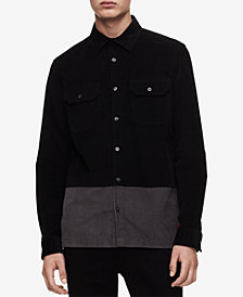 Calvin Klein Jeans Men's Colorblocked Corduroy Shirt