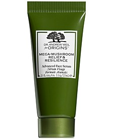 Receive a free Dr. Andrew Weil Mega-Mushroom Serum with any $50 Origins Purchase!