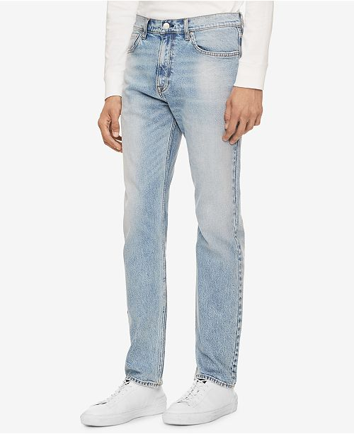 fb028347168 Calvin Klein Jeans Men's Straight Fit Jeans & Reviews - Jeans - Men ...