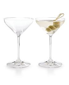 Extreme Martini Glasses, Set of 2