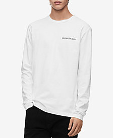 Calvin Klein Jeans Men's Back Logo Long-Sleeve T-Shirt