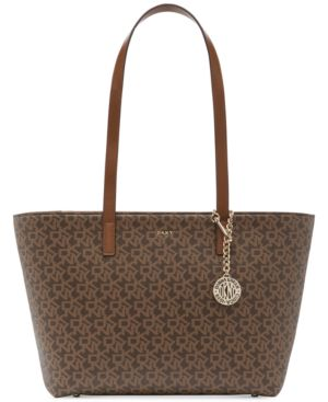 Image of Dkny Bryant Signature Tote, Created for Macy's