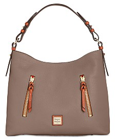 Dooney & Bourke Patterson Cooper Pebble Leather Hobo