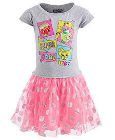 Shopkins Little Girls Layered-Look Tutu Dress