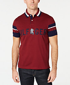 Tommy Hilfiger Men's Anderson Logo Custom Fit Polo