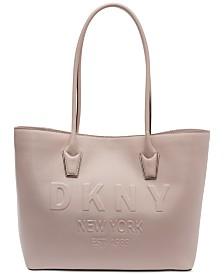 DKNY Hutton Logo Tote, Created for Macy's