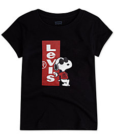 Levi's® Toddler Girls Joe Cool Snoopy Cotton T-Shirt