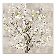 Bloom Tree Hand Embellished Canvas